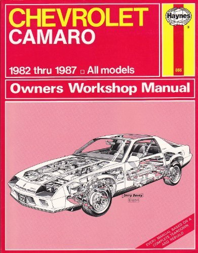 Chevrolet Camaro 1982-87 Owner's Workshop Manual Chevrolet Cavalier Owners Manual