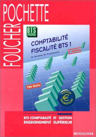 Comptabilité - Fiscalité : BTS, 1re année