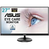 Asus VC279H 68,6 cm (27 Zoll) Monitor (Full HD, VGA, DVI, HDMI, 5ms Reaktionszeit) schwarz