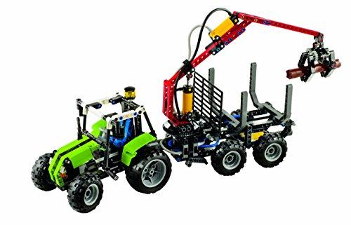 LEGO Technic 8049 - Traktor mit Forstkran