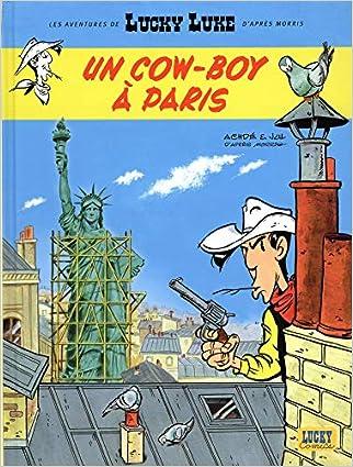 Aventures de Lucky Luke d'après Morris (Les) - tome 8 - Un cow-boy à Paris
