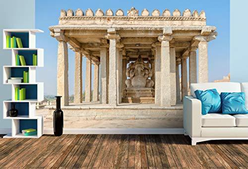 Premium Foto-Tapete Ganesha-Tempel (versch. Größen) (Size L | 372 x 248 cm) Design-Tapete, Wand-Tapete, Wand-Dekoration, Photo-Tapete, Markenqualität von ERFURT