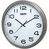 Unity Manhattan - Reloj de Pared (Metal, 40 x 40 x 3 cm)