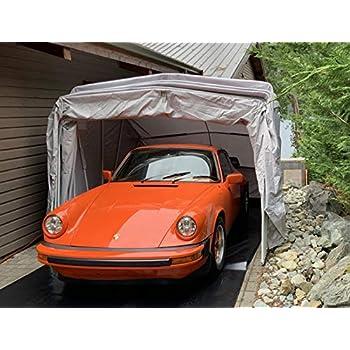 Ikuby 100% Waterproof Medium Size Carport Lockable Shelter ...