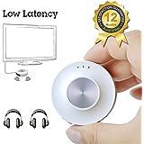 Avantree Priva II Émetteur audio Bluetooth Faible Latence aptX LL pour TV , Casque, PC, jack 3.5mm | Diffuseur / Transmetteur Sans fil | Dual Link supporté avec la plupart* des écouteurs