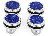 Collaterals Bottoni eleganti per camicie Lapis Lazuli