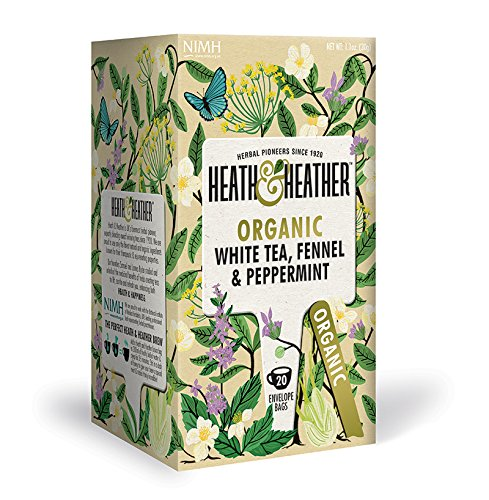 A photograph of Heath & Heather organic white