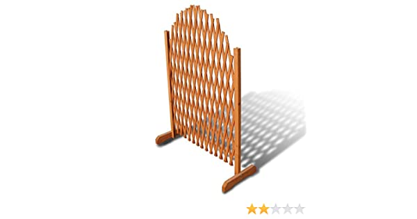 Steccato Estensibile Giardino : Vidaxl recinzione con traliccio estensibile giardino di legno