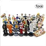 Xiton Mini Figuren Sandbox-Spiel-Spielzeug Karriere Pretend Gemeinschaft Figuren Spielen Spielzeug (Farbe Random) 1Pc