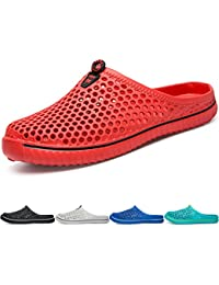 BIGU Slippers Breathable Mesh Flip Flop Beach Sandals Outdoor Sports Casual  Summer Shoes Men Women Unisex Slip-On Lightweight Quick… 5f55398d1c1