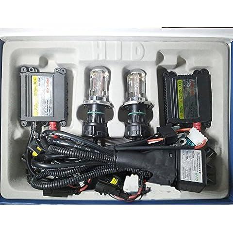 Haodasi 12V 35W Slim Ballast HID BI-Xenon Light Headlight Bulbs Lamp H4-3 Lastre delgado bi-xenón HID linterna de la luz de la lámpara de los bulbos Conversion Kit 8000K
