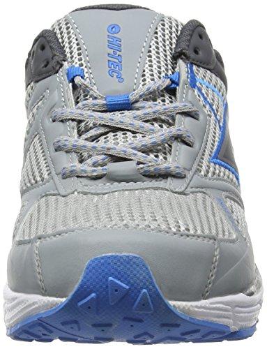 Hi-Tec - R200, Scarpe Sportive Outdoor da uomo Grigio (Grey (Grey/Graphite/Blue))
