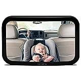 MPTECK @ Specchietto retrovisore Specchio Auto Bambini Regolabile per seggiolini auto per bambini vigilare i bambini Auto SUV SUVs A