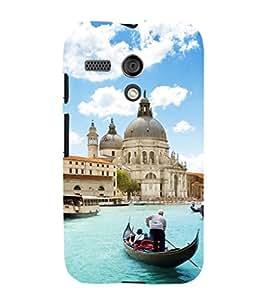 EPICCASE romantic venice Mobile Back Case Cover For Moto G (Designer Case)
