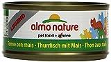 Almo Nature Legend Katzenfutter Thunfisch mit Mais (24 x 70 g)