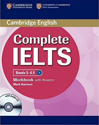 Complete IELTS Bands 5-6.5 Workbook with Answers with Audio CD Csm Pap/Co edition by Harrison, Mark (2012) Paperback
