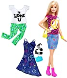 Barbie Fashionista Blonde Doll with 2 Additional Outfits