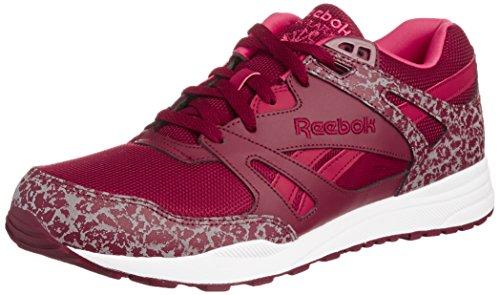 Reebok Ventilator Reflective Unisex-Erwachsene Sneakers Burgund/Weiss