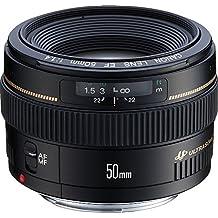 Canon EF 50mm 1:1.4 USM Objektiv (58 mm Filtergewinde) (Zertifiziert und Generalüberholt)