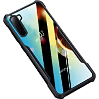 Amozo Shockproof Transparent Bumper 360 Degree Camera Protection Case Cover for OnePlus Nord (1+ Nord)