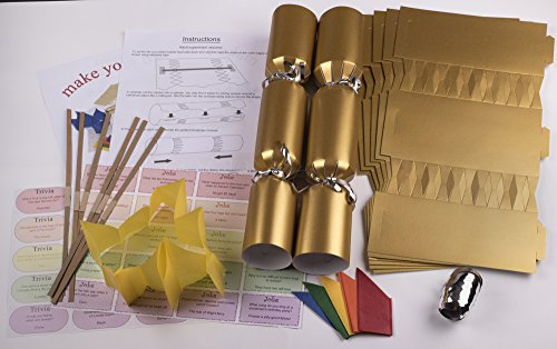 19 unusual christmas crackers for 2017 warehouse of weird 10 x make your own large 14 35cm cracker kit gold solutioingenieria Gallery