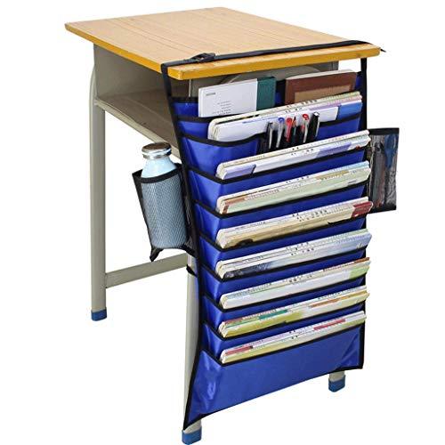 WXH-Datei Halter Bücherregal Schreibtischaufbewahrung Büchertasche Multifunktionale Hängetasche (Farbe : C)