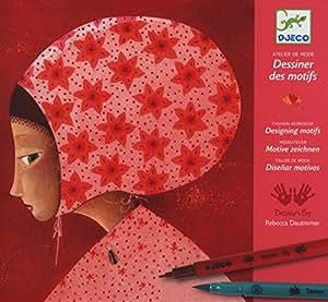 Djeco Fashion Workshop - Drawing Patterns