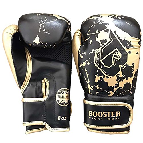 Booster Boxhandschuhe, Kinder, gold-marble, Boxing Gloves, MMA, Muay Thai Size 8 Oz