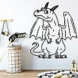 caowenhao Cartoon Drachen wasserdicht Wandaufkleber Dekoration Wanddekoration Kinderzimmer...