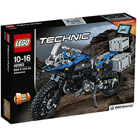 LEGO Technic 42063 - Set Costruzioni Bmw R 1200 Gs Adventure - 2007 4 Modello