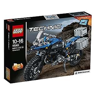 LEGO Technic 42063 - Set Costruzioni Bmw R 1200 Gs Adventure