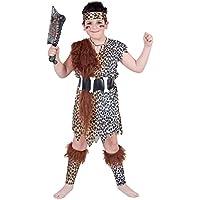 Aptafêtes–cs801010/L–Disfraz de primitiva–Talla 10/12años