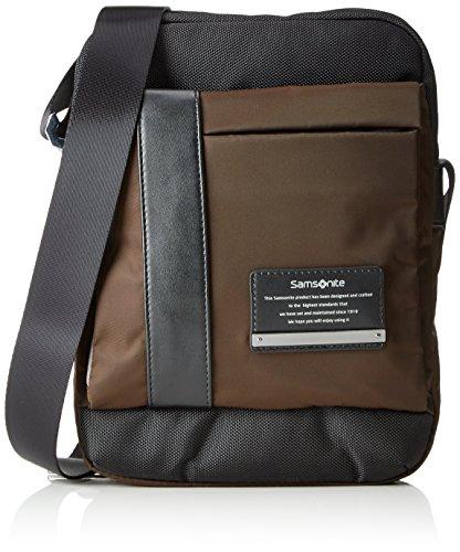 """Samsonite Openroad Tablet Crossover 9.7"""" Bolso Bandolera, 4.5 Litros, Color Marrón"""