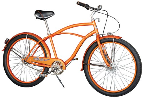 Rule Men's Horatio Supreme Cruiser Bike – Mandarin, 18.5 Inch