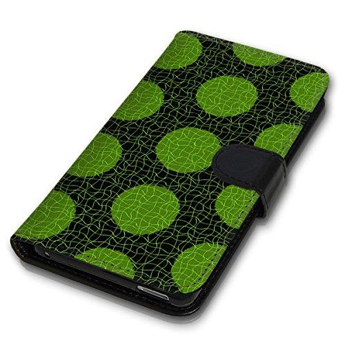 Wallet Book Style Flip Handy Tasche Case Schutz Hülle Schale Motiv Etui für Apple iPhone 4 / 4S - Variante UMV6 Design12 Design 12