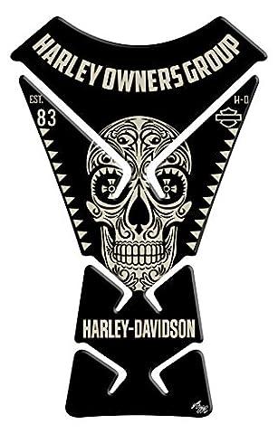 Tankpad Motorad Draht Muster Tankschutz KOMPATIBEL Polymer ,, Harley Davidson, Harley Owners Group ,,