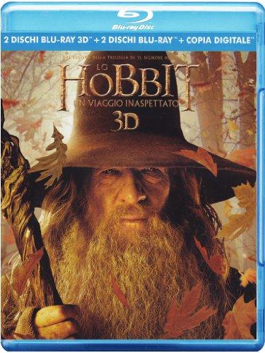 Foto Lo Hobbit - Un Viaggio Inaspettato (2 Blu-Ray 3D + 2 Blu-Ray + Copia Digitale);The Hobbit  - An Unexpected Journey;The Hobbit: An unexpected journey