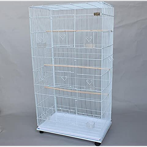 XWG Birdcage / Grande Iron Bird Cage / grande pappagallo gabbia / Iron Bird Cage / Colomba Gabbia / Parrot Cage Breeding ( colore : 2#