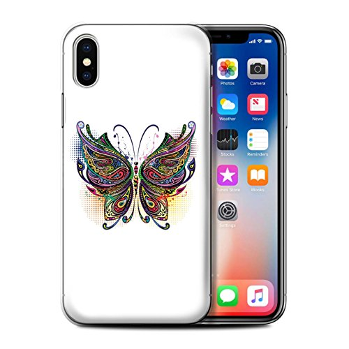 Coque de Stuff4 / Coque pour Apple iPhone 5/5S / Chouette Design / Animaux décoratifs Collection Papillon