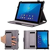 Case Supremery UltraSlim Xperia Z4 Protector Case Sony Tablet [Noir] [fonction de veille] Housse pour Sony Xperia Tablet Z4
