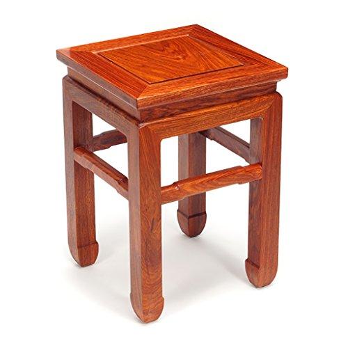 Mahagoni Outdoor-sofa (ZHANGLIXIANG Stool Chinese Hedgehog Palisander Mahagoni Tee Tabelle Square Hocker Hocker Hocker Ändern Seiner Schuhe Einfache Solid Wood Kinder Mahlzeiten High Hocker Kleine Bank Hocker (größe : #4))