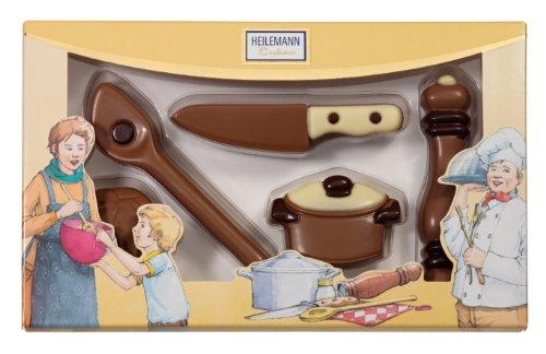 Heilemann Schoko-Kochpackung Edelvollmilch, 1er Pack (1 x