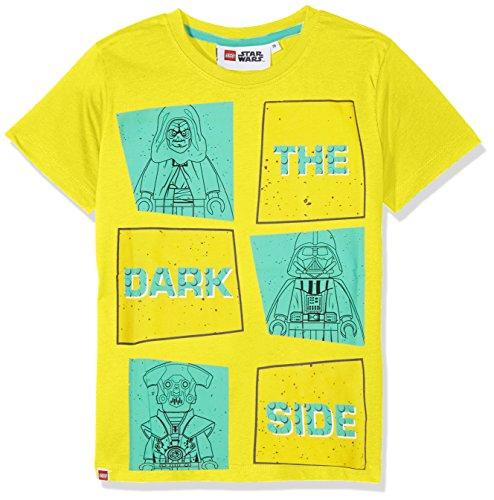 Lego Wear Jungen T-Shirt Lego Star Wars M, Gelb (Yellow 222), 146