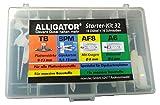 Alligator Kit de démarrage Set 32pièces par 4Chevilles to SPM A6AF8avec des vis