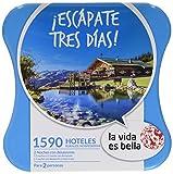 LA VIDA ES BELLA - Caja Regalo - ¡ESCÁPATE TRES DIAS! - 1590 hoteles rurales, hospederías y conventos en España, Francia, Portugal e Italia