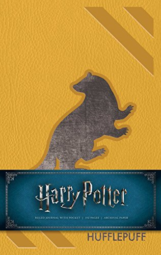 Harry Potter: Hufflepuff Hardcover Ruled Journal (Harry Potter Journals)
