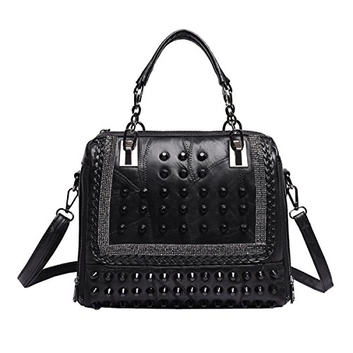 LAIDAYE Ms. Portable Schulter Diagonal Paket Black