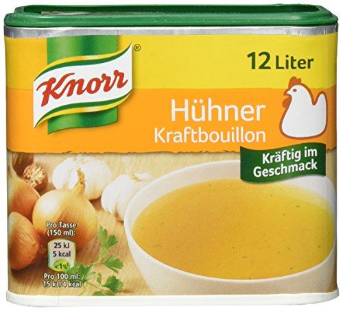 Knorr Hühner Kraftbouillon Brühe Dose, 3er-Pack (3 x 12 Liter)