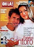 OH LA [No 173] du 07/01/2002 - PARIS-DAKAR / LES STARS AU VOLANT - LE NOEL DES ROYAUTES / VOYAGE DANS L'EUROPE DES TRADITIONS - FABRICE SANTORO ATTEND UN BEBE - MATHILDA MAY FACE A ALAIN DELON ALIAS FABIO MONTALE