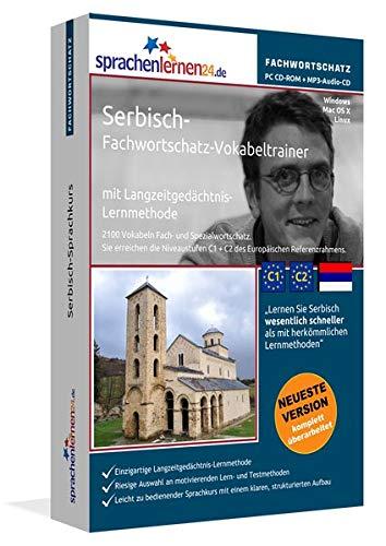 Serbisch-Fachwortschatz-Vokabeltrainer mit Langzeitgedächtnis-Lernmethode von Sprachenlernen24:...